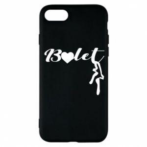 Etui na iPhone 7 Napis: Balet