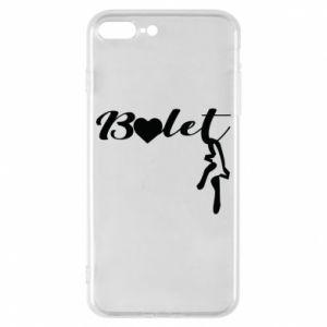 Etui na iPhone 8 Plus Napis: Balet