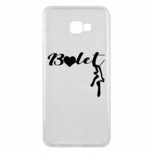 Etui na Samsung J4 Plus 2018 Napis: Balet