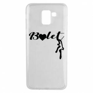 Etui na Samsung J6 Napis: Balet
