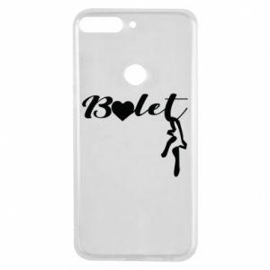 Etui na Huawei Y7 Prime 2018 Napis: Balet