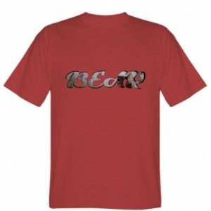 """Koszulka Napis """"Bear"""" - PrintSalon"""