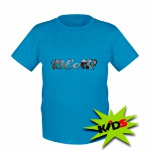 "Kids T-shirt Inscription ""Bear"""
