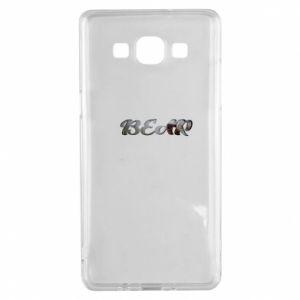 "Etui na Samsung A5 2015 Napis ""Bear"""