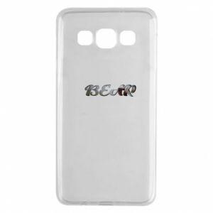 "Etui na Samsung A3 2015 Napis ""Bear"""