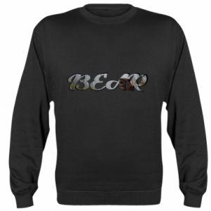 """Bluza (raglan) Napis """"Bear"""" - PrintSalon"""