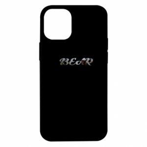 """Etui na iPhone 12 Mini Napis """"Bear"""""""