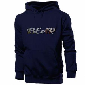 """Men's hoodie Inscription """"Bear"""""""