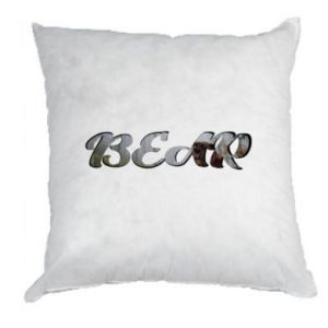 "Pillow Inscription ""Bear"""