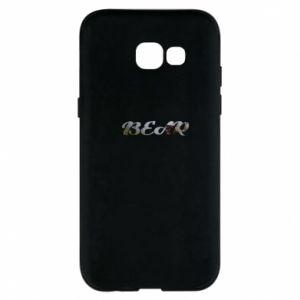 """Phone case for Samsung A5 2017 Inscription """"Bear"""""""