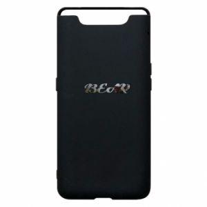 """Phone case for Samsung A80 Inscription """"Bear"""""""