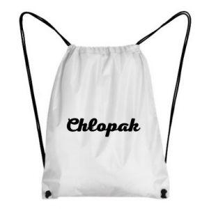 Plecak-worek Napis: Chłopak