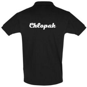 Koszulka Polo Napis: Chłopak