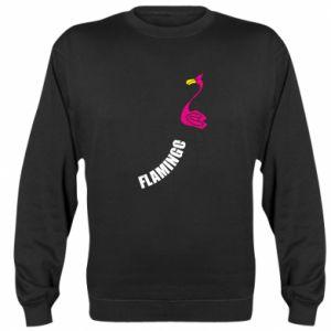 Bluza (raglan) Napis: Flamingo