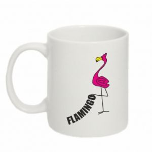 Kubek 330ml Napis: Flamingo