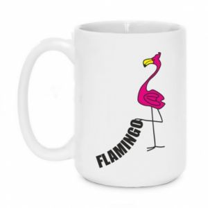 Kubek 450ml Napis: Flamingo
