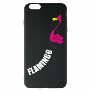 Etui na iPhone 6 Plus/6S Plus Napis: Flamingo