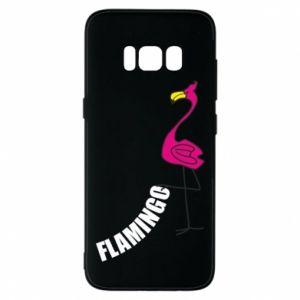 Etui na Samsung S8 Napis: Flamingo