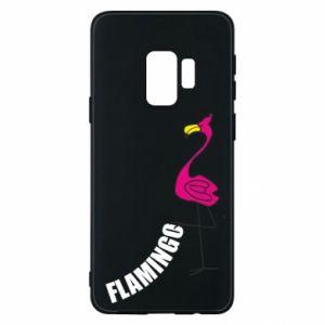 Etui na Samsung S9 Napis: Flamingo