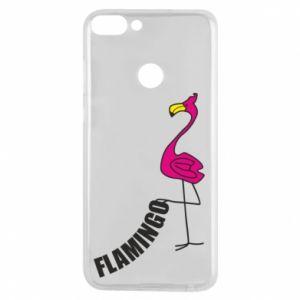 Etui na Huawei P Smart Napis: Flamingo