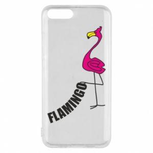 Etui na Xiaomi Mi6 Napis: Flamingo