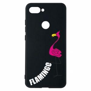 Etui na Xiaomi Mi8 Lite Napis: Flamingo