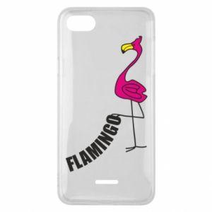 Etui na Xiaomi Redmi 6A Napis: Flamingo