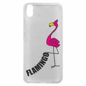 Etui na Xiaomi Redmi 7A Napis: Flamingo