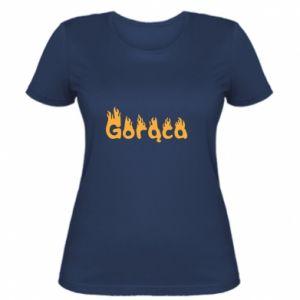 Koszulka damska Napis: Gorąca