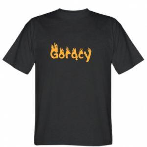 Koszulka męska Napis - Gorący