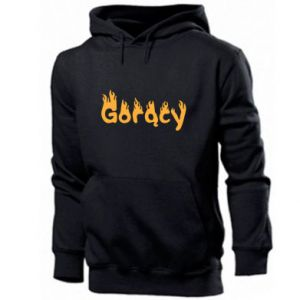 Men's hoodie Inscription - Hot