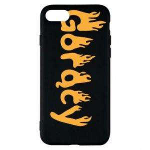 Etui na iPhone 8 Napis - Gorący