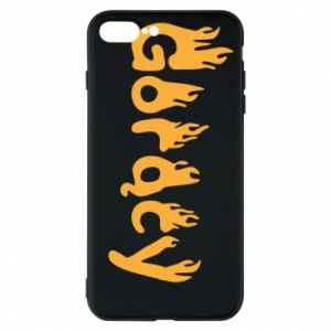 Etui na iPhone 8 Plus Napis - Gorący