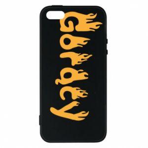 Etui na iPhone 5/5S/SE Napis - Gorący