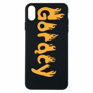 Etui na iPhone Xs Max Napis - Gorący