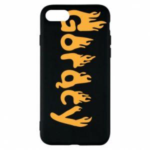 Etui na iPhone 7 Napis - Gorący