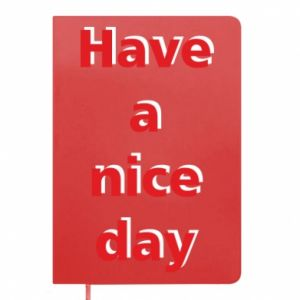 Notes Napis - Have a nice day