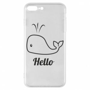 "Etui na iPhone 8 Plus Napis: ""Hello"""