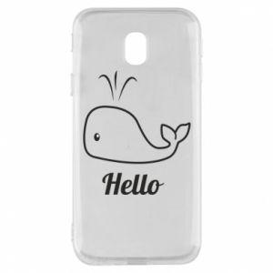 """Etui na Samsung J3 2017 Napis: """"Hello"""""""