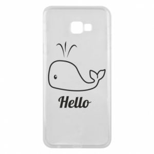 "Etui na Samsung J4 Plus 2018 Napis: ""Hello"""