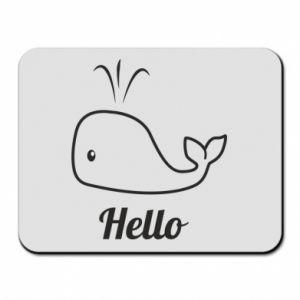 """Podkładka pod mysz Napis: """"Hello"""""""