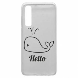 """Etui na Huawei P30 Napis: """"Hello"""""""