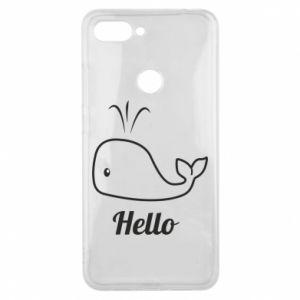 """Etui na Xiaomi Mi8 Lite Napis: """"Hello"""""""
