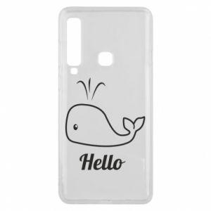 "Etui na Samsung A9 2018 Napis: ""Hello"""