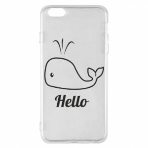 "Etui na iPhone 6 Plus/6S Plus Napis: ""Hello"""