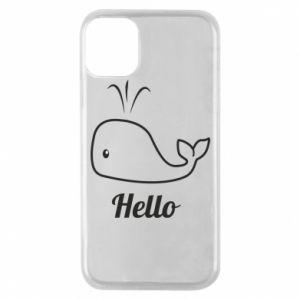 "Etui na iPhone 11 Pro Napis: ""Hello"""