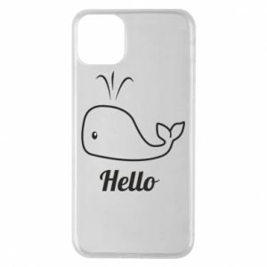 "Etui na iPhone 11 Pro Max Napis: ""Hello"""