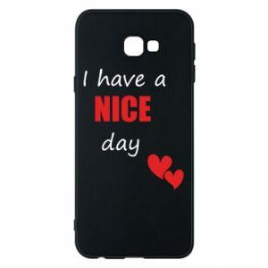 Etui na Samsung J4 Plus 2018 Napis: I have a nice day