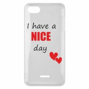 Etui na Xiaomi Redmi 6A Napis: I have a nice day