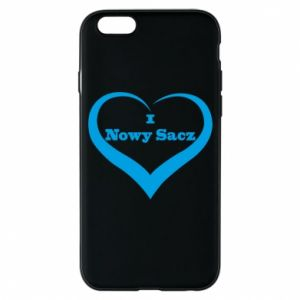 Etui na iPhone 6/6S Napis - I love Nowy Sacz